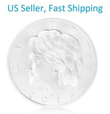 Hillary Clinton Silver Coin In God We Trust Commemorative Challenge Gifts 2016