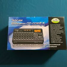 Tascam Dp-008Ex 8-track Digital studio & Sd Recorder w/ Built-in Stereo Mint