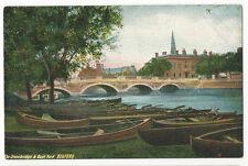 Bedforshire  - Bedford, The Stonebridge & Boat Yard - 1900's postcard