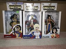 AME-COMI PVC Statue Lot Of 3 Wonder Woman (v.1), WW (v.3) And Power Girl MIB