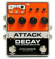 New Electro-Harmonix EHX Attack Decay Tape Reverse Simulator Guitar Pedal!