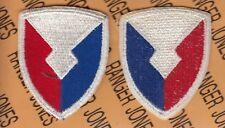 US Army Material Command AMC dress uniform patch c/e