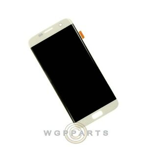 LCD Digitizer Assembly for Samsung G935 Galaxy S7 Edge White Pearl Aftermarket