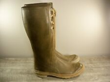 "Vintage Converse Rubber Tall Waders Fishing Sneaker Mens Boots Size 10, 16"" tall"