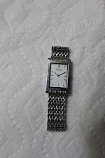Rare Swiss  ACCUTRON T7  Flat S Steel Quartz  Men Wrist Watch