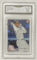 2020 Topps Bowman AARON JUDGE Graded Card PSA GMA 10 - New York Yankees