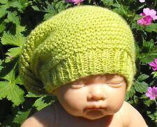 Istruzioni stampate-BABY SETA pigiama con Stitch Slouch Cappello knitting pattern
