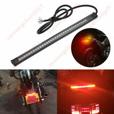 Universal Motorcycle 48LED Light Strip Rear Tail Brake Stop Turn Signal Lights