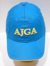 AJGA NewEra Baseball Cap Strapback Adjustable Blue Yellow Women's