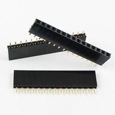 20Pcs 2.54mm Pitch 1x15 Pin 15 Pin Female Single Row Straight Header Strip