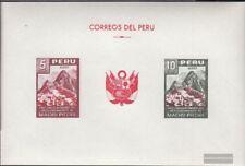 Peru Block4 (kompl.Ausg.) postfrisch 1961 Inkastadt
