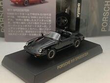 Porsche 911 Speedster 930 black Kyosho 1/64 scale Die-cast  part.3