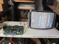 Midway Galaga arcade game board set repair service