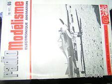 µµ Radio Modelisme n°65 Caillebotis Stabilité d'un MRB Missile IV Radio  avion