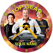 Orologio CD TOP GEAR libero STAND confezione regalo gratuito regalo auto veicoli personalizzati