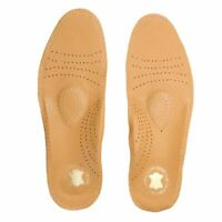 Shoe Insole Pad Leather Latex Orthopedic Cushion Antibacterial Active Support