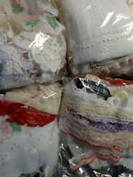 "Grab Bag 30 Remnant Cuttings 12""+ Assorted Trim/Lace 10 + Yards Total"