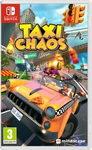 Taxi Chaos (Switch) Brand New & Sealed Free UK P&P
