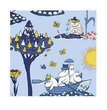 Moomin Servilletas de papel pellinki Azul 20 piezas 24 x 24cm