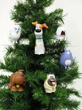 The Secret Life of Pets   6 Piece  Christmas Ornaments Set     BRAND NEW