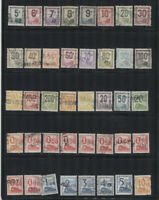 France Used CV$341.00 1901-1940 Parcel Post Collection