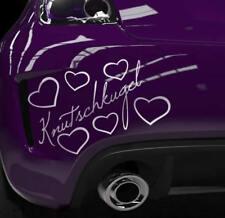 Süßer Aufkleber Mini Smart Knutschkugel Auto Sprüche Herzen Schriftzug Sticker