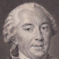 Portrait XVIIIe Comte De Buffon Georges-Louis Leclerc Naturaliste Cosmologiste