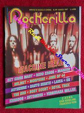 rivista ROCKERILLA 199/1997 Machine Head Helmet Morphine Santo Niente No cd