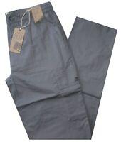 Pantalone uomo taglia M L XL XXL XXXL  tasconi cotone grigio SEA BARRIER ISOLA