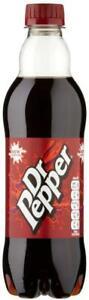 Dr Pepper Soft Drink Bottle 500 Ml (pack Of 24)