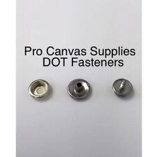 "DOT Snaps Cap, Socket, & Screw Stud 3/8"" #10 Stainless Steel Kit 75 SETS"