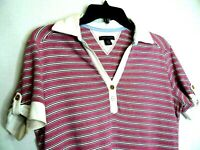 Tommy Hilfiger womens striped short sleeve top size M