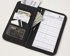 Waiters Server Wallet Book/Organizer Order Pad Money Holder Check Presenter Tip