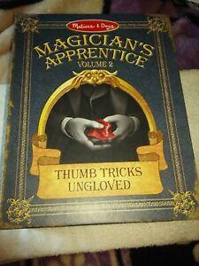 Magic Tricks. Magician's Apprentice Thumb Tricks Ungloved By Melissa & Doug