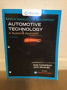 Tech Manual for Erjavec/Thompson's Automotive Technology: A Systems Approach