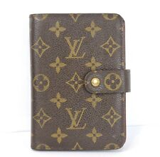 AUTHENTIC LOUIS VUITTON MONOGRAM PORTE-PAPIER ZIPPE BIFOLD ZIPPY WALLET