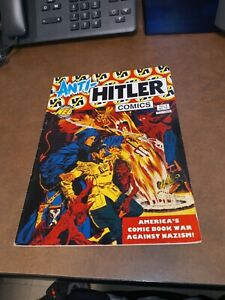 Anti-Hitler Comics 1 WWII Unknown Soldier Reed Crandall LB Cole Rudy Palais art