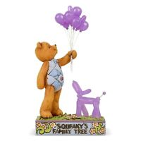 ENESCO JIM SHORE BUTTON AND SQUEAKY COLLECTION SQUEAKY'S FAMILY TREE ON SALE