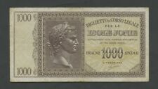 More details for greece  ionian isles  1000 drachmai  1941  krause m17  banknotes