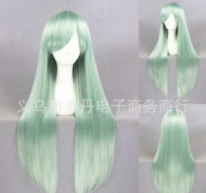 Anime The Seven Deadly Sins Elizabeth Cosplay Long Wig Party Props 80CM