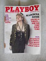 September 1985 Playboy Magazine - Madonna