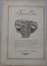 1942 Jaguar Original advert No.3