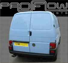 VW TRANSPORTER T4 STAINLESS STEEL CUSTOM BUILT EXHAUST SYSTEM SINGLE TAIL PIPE