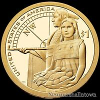 2014 S Native American Sacagawea Mint Proof ~ Coin from Original U.S. Proof Set
