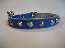 LEATHER ROYAL SMALL STUDDED CAT COLLAR