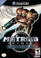 Metroid Prime 2: Echoes (Nintendo GameCube, 2004) Box And Game No Manual
