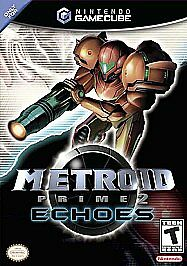 Metroid Prime 2: Echoes complete in case w/ manual GameCube