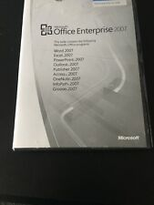 Microsoft Office Enterprise 2007 (Word, Excel, Powerpoint, Outlook + many more)