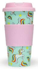Fizz Creations 9060 Unicorn and Rainbows Plastic Travel Mug