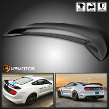 For 2015 2019 Mustang Gt350r Style Rear Trunk Winglower Spoiler Primer Black Fits Mustang